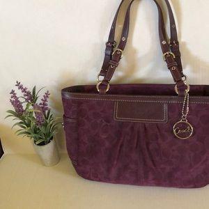 Coach plum color